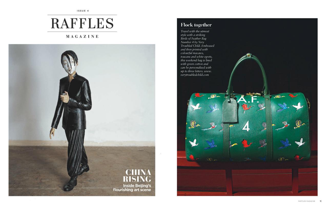 Raffles Magazine Features
