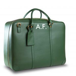 Green Luggage Perspective AF