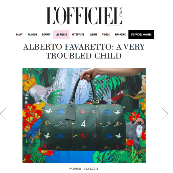 L'Officiel Italia - 2 MAY 2016