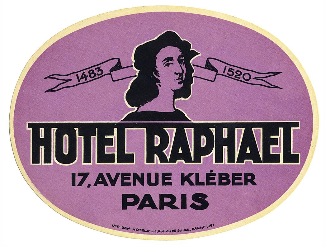 Paris Hotel Raphael